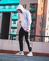Демисезонный спортивный  костюм Overdrive белый (худи Classic + спортивные штаны Overdrive), фото 1