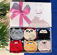 Унікальний набір жіночих шкарпеток 6 пар. Чудовий вибір для подарунка.