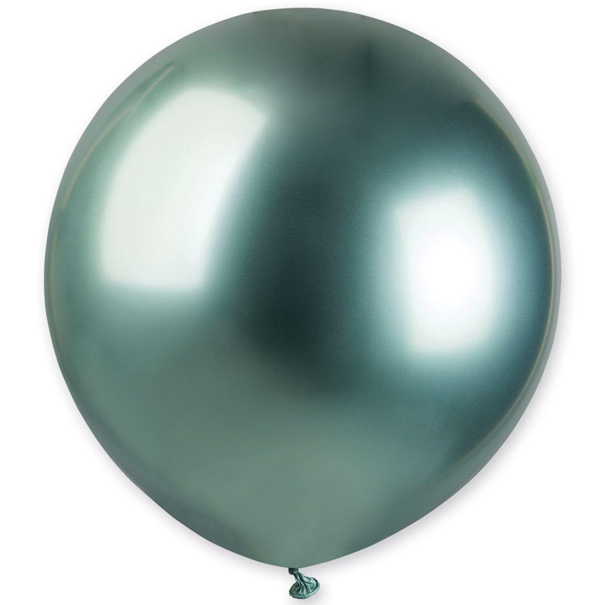 Воздушный шар 19' хром Gemar G150-093 Зеленый (48 см), 10 шт