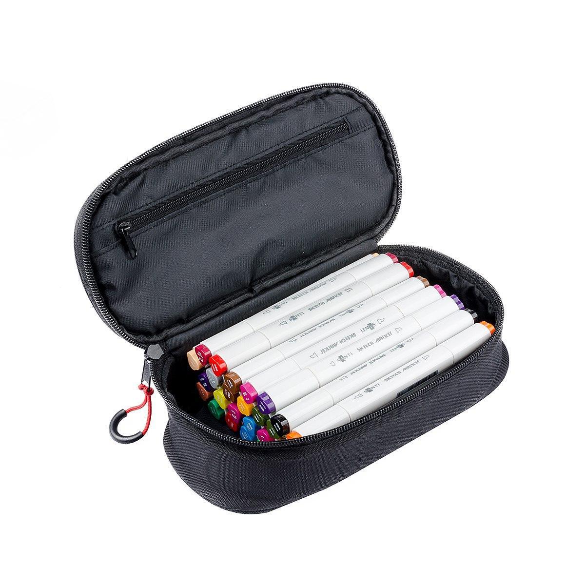 Набор скетч-маркеров 18 шт. в фирменном пенале Santi (лучше чем TOUCH) (390597)