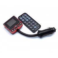 FM модулятор автомобильный 520 USB SD micro SD от прикуривателя / ФМ модулятор трансмиттер