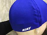 Бейсболка  из трикотажной ткани размер 58-60 цвет электрик, фото 2