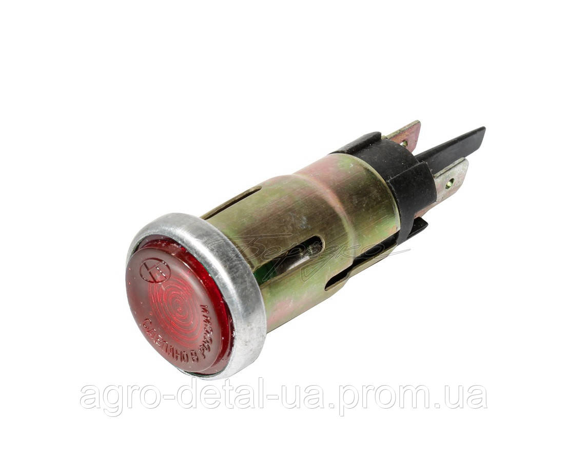 Фонарь контрольной лампы ПД20-Е1 глазок красный трактора Т16,СЩ 2540