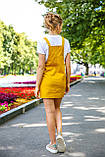 Модный сарафан лето 2020. Короткий сарафан на пуговицах.  Nui Very 05-23, фото 5