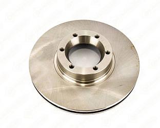 Гальмівний диск передній 280mm. (R15) на Renault Master II 1998->2010 - Meyle - 6155216030