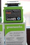 Аккумуляторная батарея Greenworks 40V  ( 2,5 А/ч) (100 Вт ч), фото 6