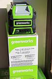 Аккумуляторная батарея Greenworks 40V  ( 2,5 А/ч) (100 Вт ч), фото 7