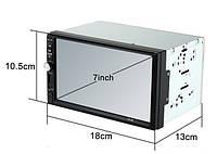 Автомагнитола MP5 2DIN 7012 Little USB  + рамка / Автомобильная магнитола / USB+Bluetoth+Камера
