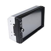 Автомагнитола MP5  2DIN 7018 USB  + рамка / Автомобильная магнитола / USB+Bluetoth+Камера