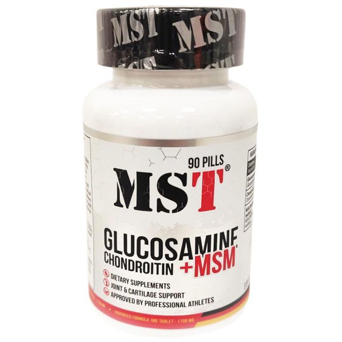 MST Glucosamin+Chondroitine+MSM 90 caps