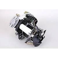 Двигатель для компрессора в сборе с блоком LEX : 3.3 кВт | 2 V-блок | 50-120 л. Комперессоров