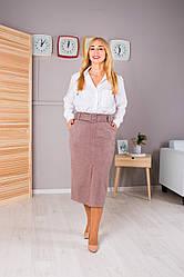 Женская юбка Пенелопа цвет бежевый