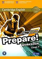 Prepare! 1 Workbook (металлическая пружина)