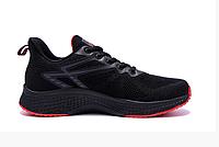 Мужские летние кроссовки сетка BS TREND SYSTEM черные, фото 1