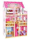 Детский игровой кукольный домик EcoToys 4119 Tima Toys + 2 куклы для детей, фото 3