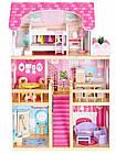 Детский игровой кукольный домик EcoToys 4119 Tima Toys + 2 куклы для детей, фото 2