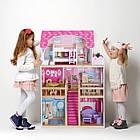 Детский игровой кукольный домик EcoToys 4119 Tima Toys + 2 куклы для детей, фото 7