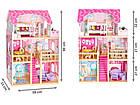 Детский игровой кукольный домик EcoToys 4119 Tima Toys + 2 куклы для детей, фото 8