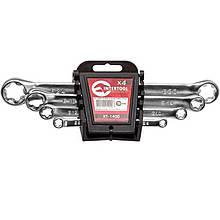 Набор накидных ключей Intertool - 4 шт. (6-24 мм) Torx | XT-1400