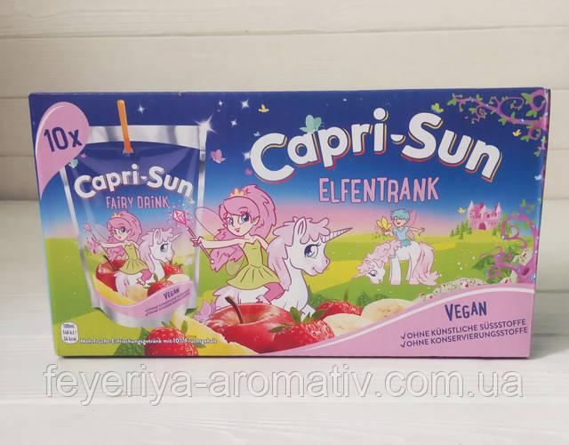 Сок с трубочкой Capri-Sun Fairy Drink