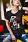 Стильная футболка Карты и Розы, фото 2