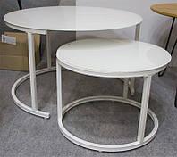 Комплект журнальных столиков CS-25, цвет белый
