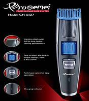 Профессиональная машинка для стрижки волос с регулировкой длины Gemei GM-6127