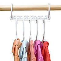 Универсальная складная вешалка для одежды Wonder Hanger / Уондер Хэнджер для экономии места