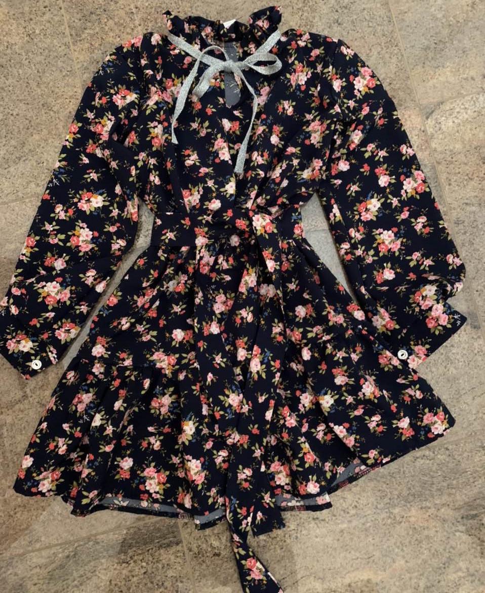 Платье для девочек Alisa, 128-164 рр. Артикул: 5255-синий