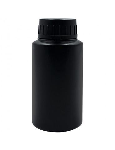 Бутылочка с крышкой черная пластиковая 30 мл