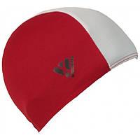 Шапочка для плавання VIZARI Enero (тканина) Червоний/білий