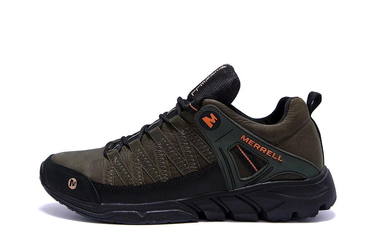 Мужские кожаные кроссовки Merrell Tracking р. 40 41 42 43 44 45