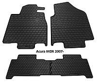 Резиновые автомобильные коврики в салон ACURA MDX 2007 акура мдх Stingray