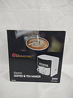 Капельная кофеварка электрическая Domotec MS-0706, 500W, фото 1