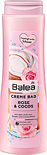 Крем - піна для ванни  Balea  Rose & Cocos 750 мл