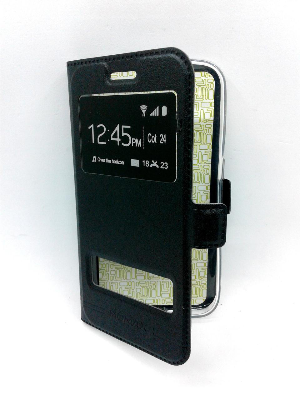 Чехол-книжка Flip Cover for Meizu M6s Momax black