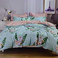 Комплект постельного белья 200 на 230 Фланель 4 наволочки