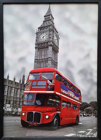 """Фотокартина в деревянной раме """"London 2"""", 50х70 см, фото 2"""