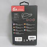 Автомобильное зарядное устройство 2 юсб 2.1 А car charger 009, фото 2