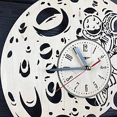 Необыкновенные настенные деревянные часы «Восхитительная луна», фото 3