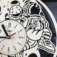 Необыкновенные настенные деревянные часы «Восхитительная луна», фото 2