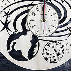 Дизайнерские настенные часы «Космос», фото 3