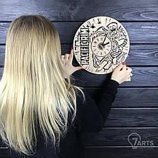 Стильные настенные деревянные часы «Тихоокеанский рубеж», фото 3