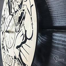 Тематические интерьерные настенные часы «Робин», фото 2