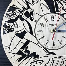 Тематические интерьерные настенные часы «Робин», фото 3