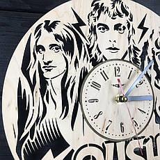 Часы из натурального дерева настенные «Rush», фото 3