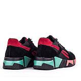 Жіночі легкі кросівки Lonza YY8888-2 BLACK/RED, фото 3