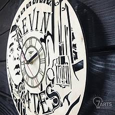 Бесшумные настенные часы из дерева «Кевин Гейтс», фото 2