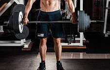 Штанга з набором млинців на 62 кг з хромованим грифом Млинці зроблені з гранилита, фото 3