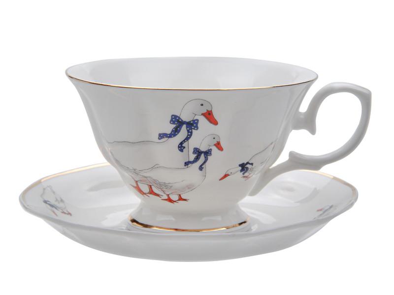 """Чайный набор """"Гуси"""" 2 предмета, Lefard, 943-184"""